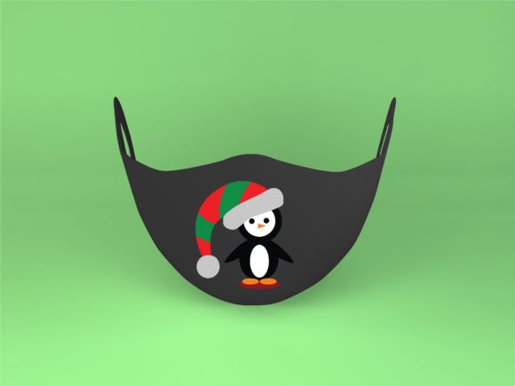 Christmas Penguin Graphic Download