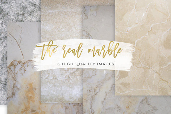 Print on Demand: The Real Marble Paper, Natural Clip Art Graphic Backgrounds By SunflowerLove