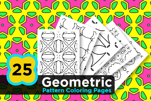 - Abstract Pattern Coloring Books (Graphic) By Riduwan Molla · Creative  Fabrica