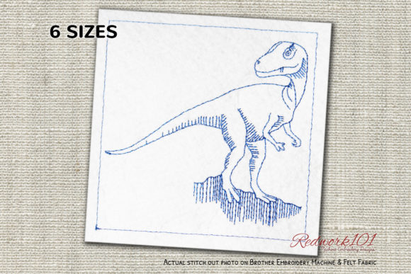 Allosaurus Dinosaurs Lineart Design Dinosaurs Embroidery Design By Redwork101