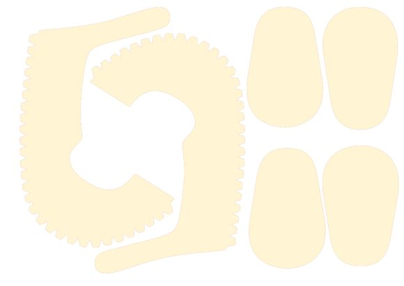 Print on Demand: Baby Shoe Graphic 3D Shapes By jgalluccio