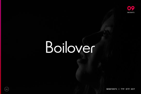 Print on Demand: Boilover Sans Serif Font By Webhance