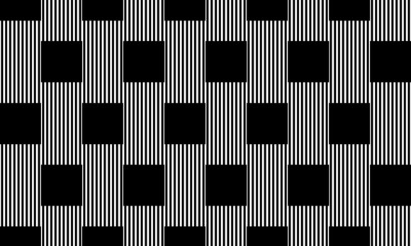Checker of Vertical Lines Pattern Graphic Patterns By asesidea