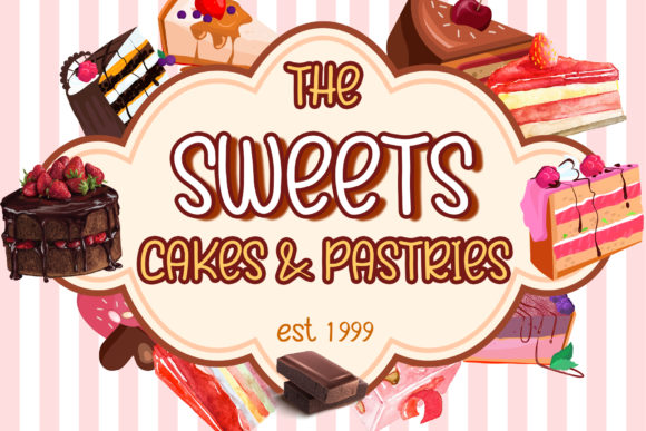Choco Cakes Font Download