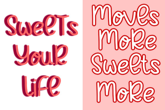 Choco Cakes Font Preview