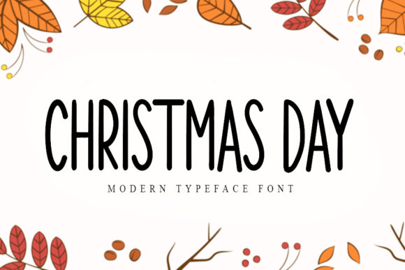 Print on Demand: Christmas Day Script & Handwritten Font By K_IN Studio