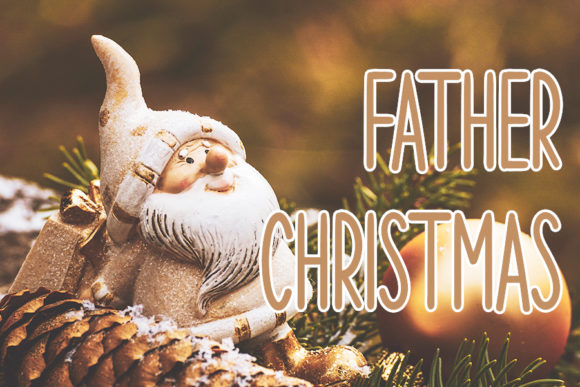 Christmas Day Font Preview