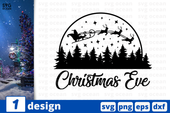 Print on Demand: Christmas Eve Graphic Crafts By SvgOcean