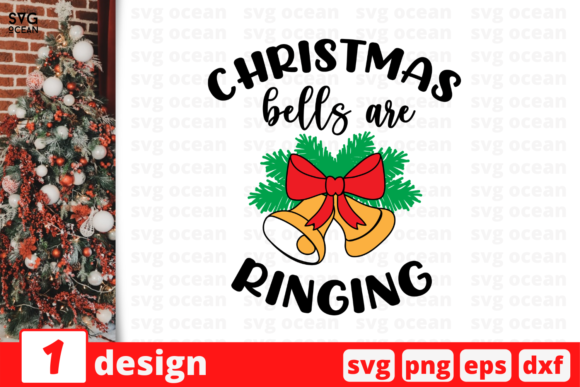 Christmas Bells Are Ringing Graphic Crafts By SvgOcean