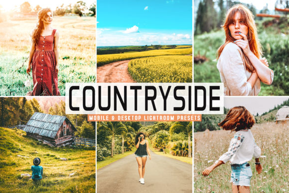 Print on Demand: Countryside Pro Lightroom Presets Graphic Actions & Presets By Creative Tacos