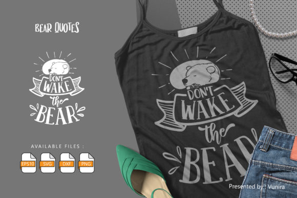 Print on Demand: Dont Wake the Bear Graphic Crafts By Vunira