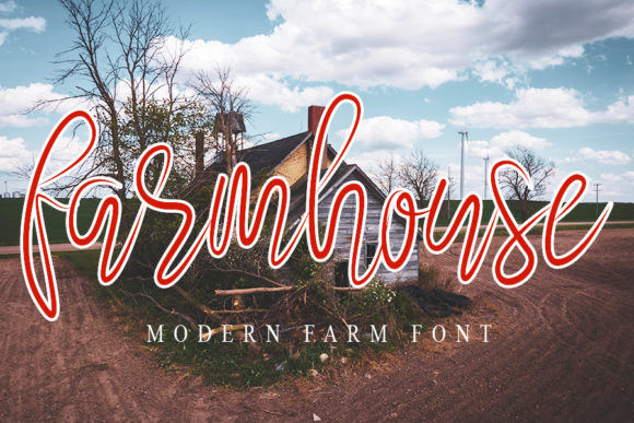 Print on Demand: Farmhouse Script & Handwritten Font By NYA Letter