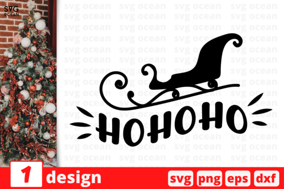HOHOHO Graphic Crafts By SvgOcean