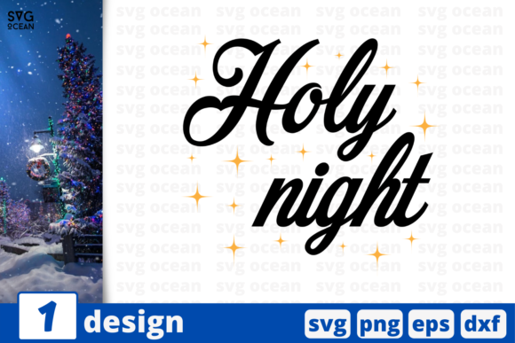 Holy Night Graphic Crafts By SvgOcean