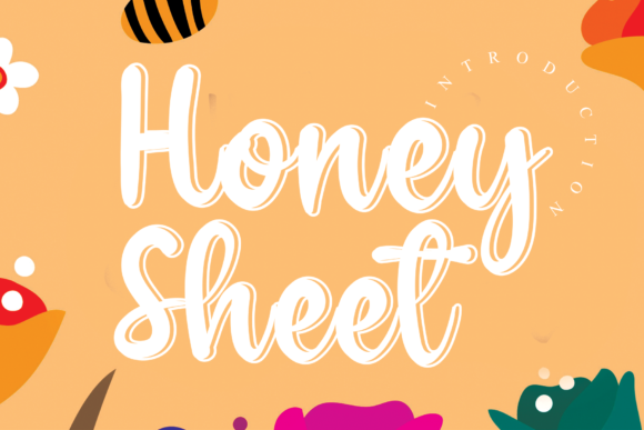 Print on Demand: Honey Sheet Script & Handwritten Font By andikastudio