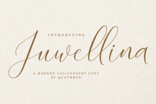 Print on Demand: Juwellina Script & Handwritten Font By it_was_a_good_day