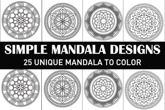 Print on Demand: Mandala Coloring Book for Kids and Adult Graphic Coloring Pages & Books Adults By Gurus Kdp Templates