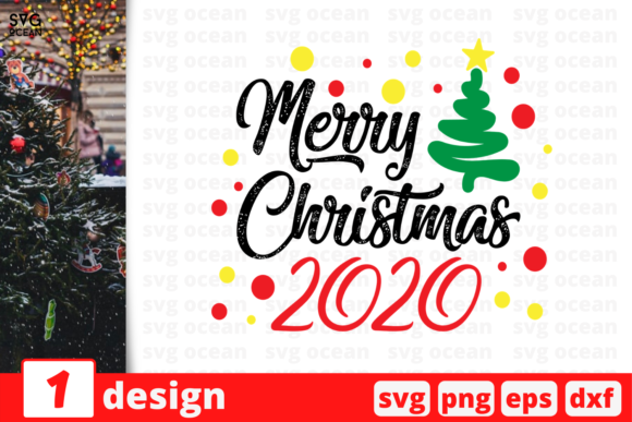 Merry Christmas 2020 Graphic Crafts By SvgOcean