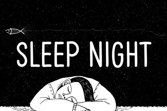Print on Demand: Sleep Night Script & Handwritten Font By andikastudio