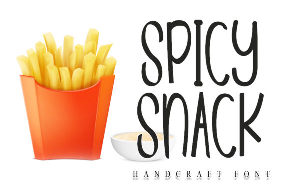 Print on Demand: Spicy Snack Script & Handwritten Font By NYA Letter