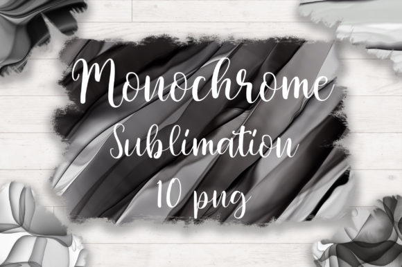 Sublimation Monochrome Ink Background Graphic Backgrounds By PinkPearly