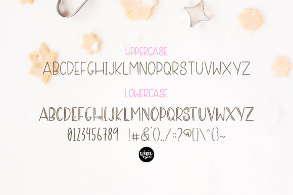 Sugar Cookie Font Item