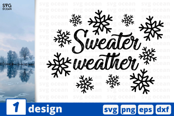 Sweater Weather Graphic Crafts By SvgOcean