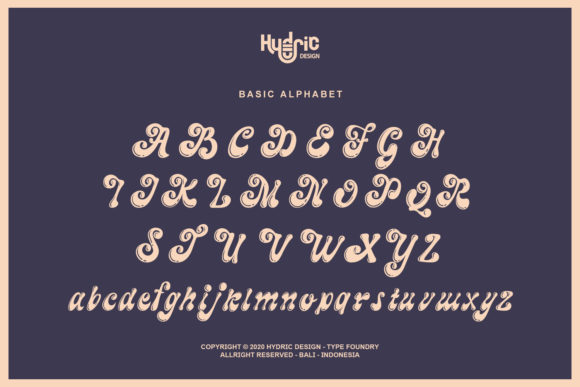 The Maggie Nuts Font Design