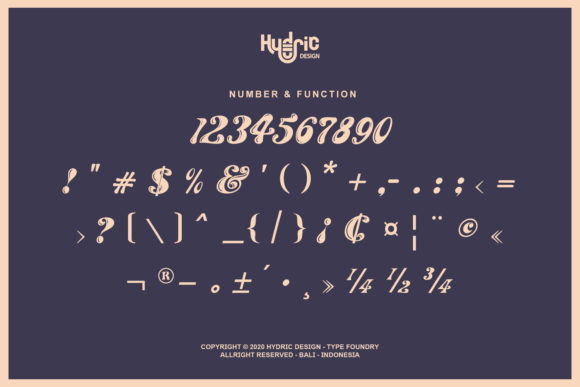 The Maggie Nuts Font Preview
