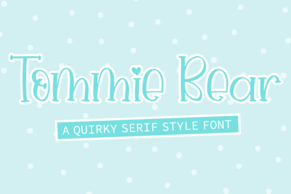 Print on Demand: Tommie Bear Script & Handwritten Font By freelingdesignhouse