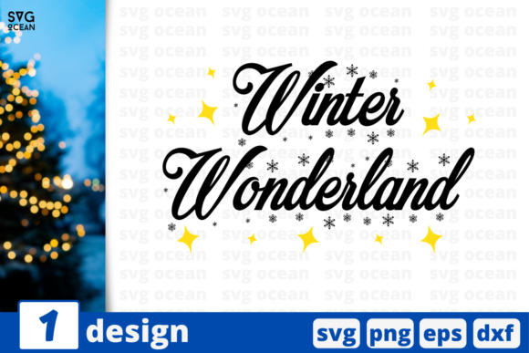 Winter Wonderland Graphic Crafts By SvgOcean