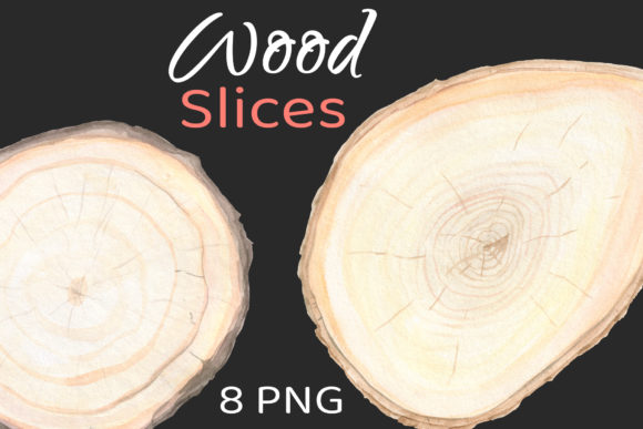Wood Frame Slice Clipart Background Graphic Objects By artpanda2018