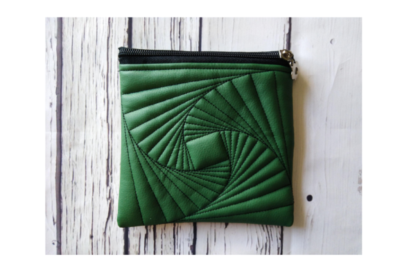 Zippered Bag - in the Hoop Embroidery Download