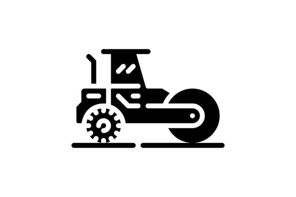 Print on Demand: Steamroller Graphic Icons By khld939
