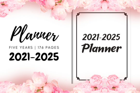Print on Demand: 2021 2025 Five Years Planner | KDP Graphic KDP Interiors By Fayne