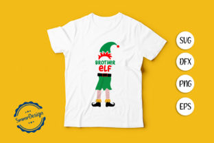 Print on Demand: Brother ELF SVG Cut File. Graphic Crafts By SmmrDesign