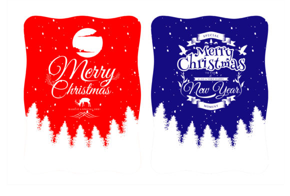 Print on Demand: Christmas Creative Banner Graphic Illustrations By edywiyonopp