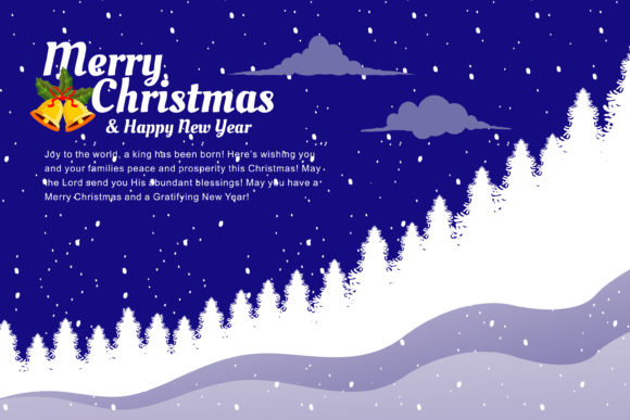Print on Demand: Christmas Great Illustration with Tree Graphic Illustrations By edywiyonopp