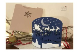 Christmas Night Graphic 3D Christmas By patrizia.moscone