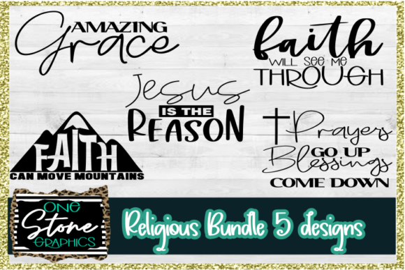 Faith Bundle Graphic Crafts By OneStoneGraphics