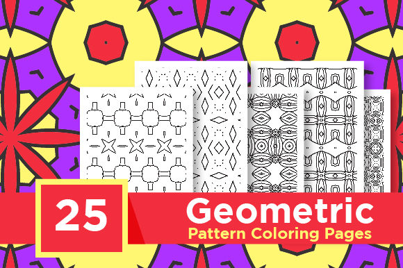 Print on Demand: KDP Coloring Pattern Pack Graphic Coloring Pages & Books Adults By Riduwan Molla