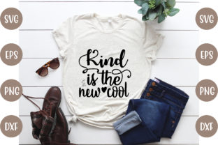 Kind is the New Cool Graphic Print Templates By creative store.net
