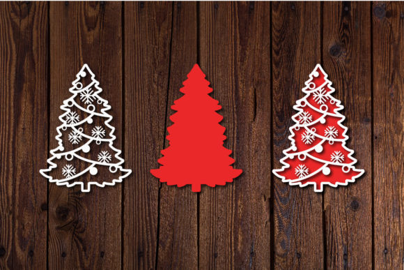 Christmas Tree Svg Cut Files Graphic Download