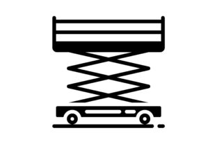 Print on Demand: Scaffolding Graphic Icons By khld939