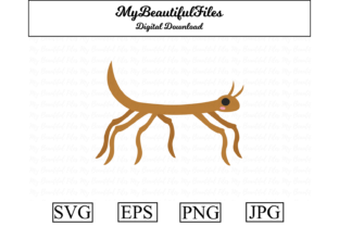 Print on Demand: Stick Insect Clipart Illustration Graphic Illustrations By MyBeautifulFiles