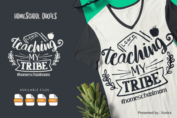 10 Homeshool Bundle | Lettering Quotes Graphic Graphic