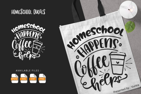 10 Homeshool Bundle | Lettering Quotes Graphic Design