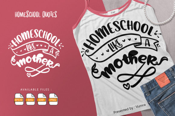 10 Homeshool Bundle | Lettering Quotes Graphic Image