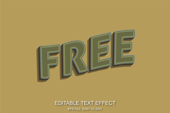 Free Retro Text Effect Graphic Layer Styles By ve.art09