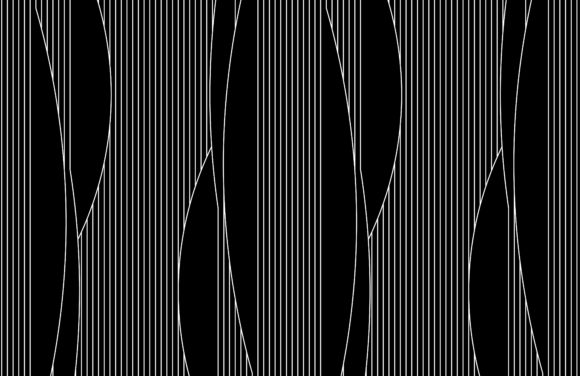 Vertical of Spline Pattern Graphic Patterns By asesidea